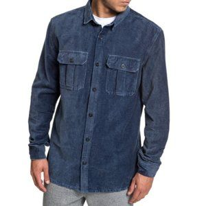 QUIKSILVER Melton Minds Long Sleeve Shirt size M